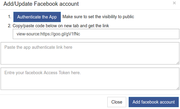 authenticate-facebook-app