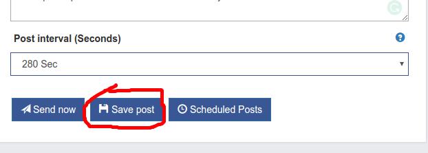 Save Edited Post